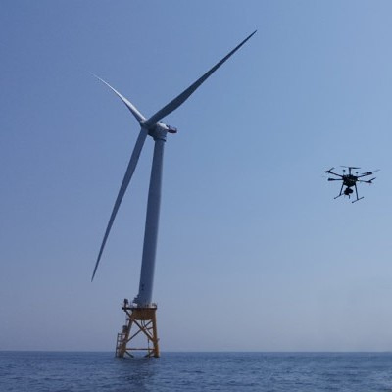 Drone Use in Offshore Wind Inspections Increases Safety and Efficiency